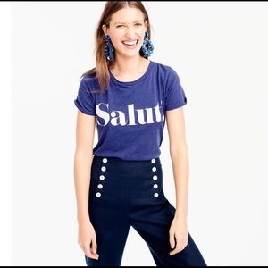 Jcrew Salut! T-shirt - Blue
